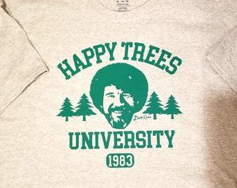ebd816ff Bob Ross Happy Trees University