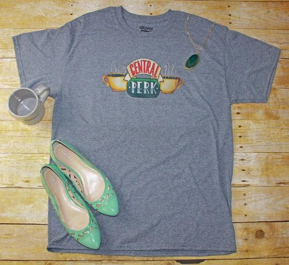 Friends Tv Show,Central Perk Coffee Shop Shirt Friends Show Cafe Shirt Central Park Shirt Central Perk Shirt Popular Friends Shirt Color Design