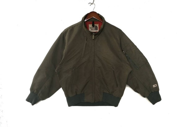 352776d2d6 Vintage 90s The North Face x Goldwin air insulated bomber