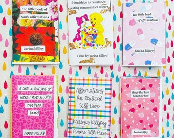 Create Your Own Mini-Zine Savings Bundle: Pick Any 3 of Our Mini-Zines for the Price of 2 (color print)