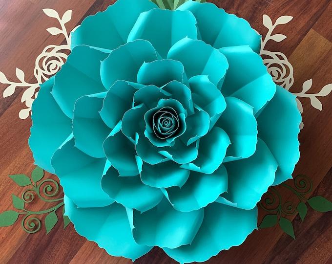 "PDF Paper Flowers Petal 172 Templates 3d & DIY Paper flower for Wedding and Event Decor DIY 15-16"" Printable Trace cut Files handmade decor"
