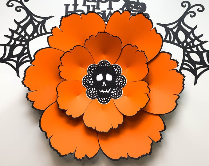 SVG PNG DXF Halloween Theme Paper Templates All components Included Cut files for Cricut and Silhouette Diy Handmade Project