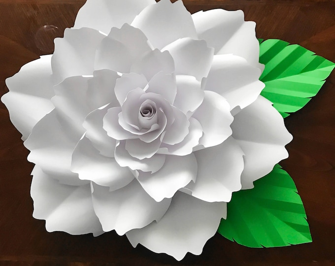 Paper Flowers -Paper Flowers - PDF Petal # 140 Paper Flower Template, Digital  Version, Original Design by Annie Rose
