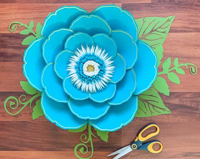 DIY PAPER FLOWERS Petal 29, svg, png, dxf, Instant Download Cut Files, Bridal Shower Decor, Nursery Wall Decor, Wedding Decorations, Cricut