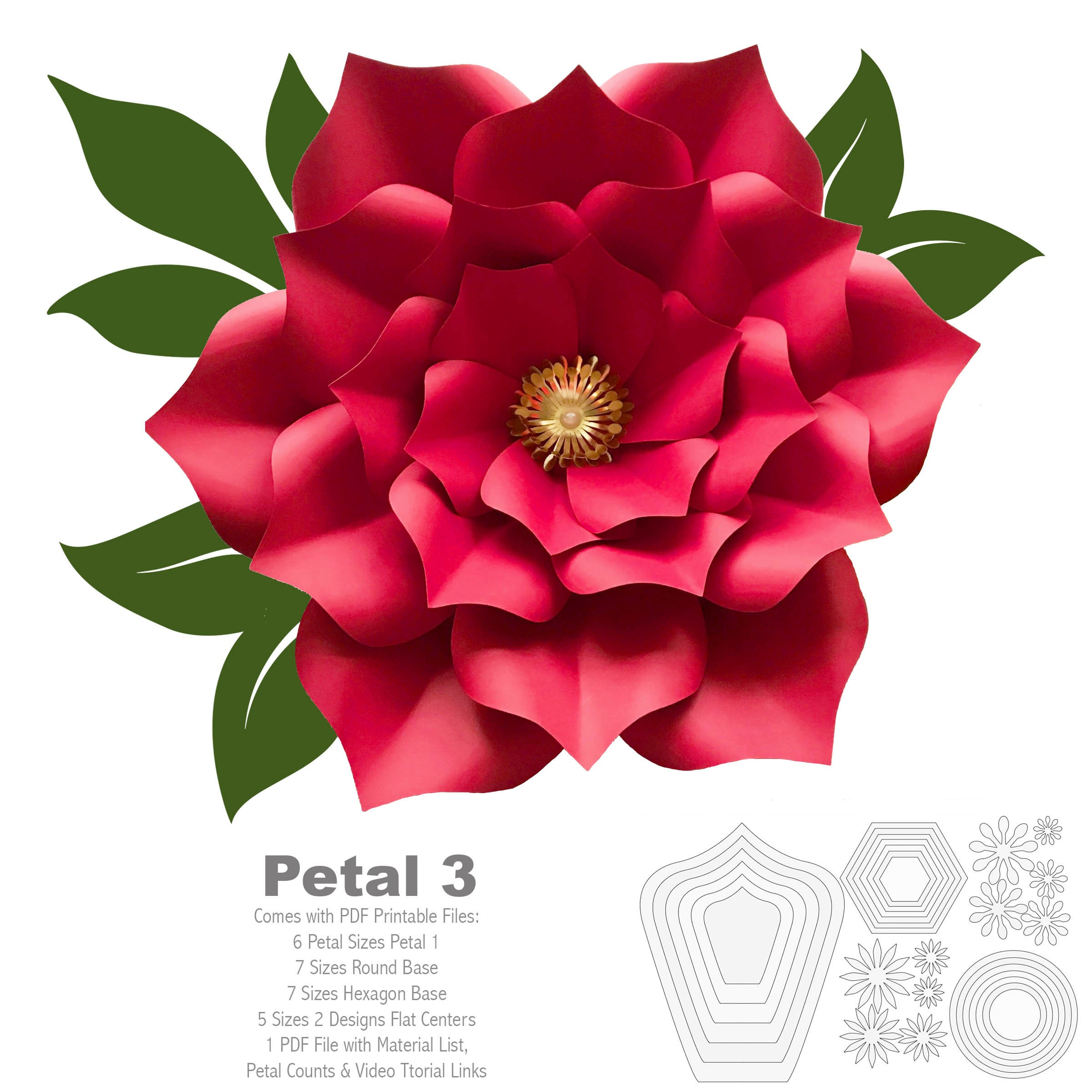 HOW TO MAKE PAPER FLOWERS PDF BOOK EMAILED