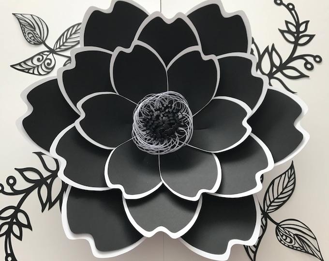 Paper Flowers -PDF PETAL #100 Paper Flower template, Digital Version, The Couture - Original Design by Annie Rose
