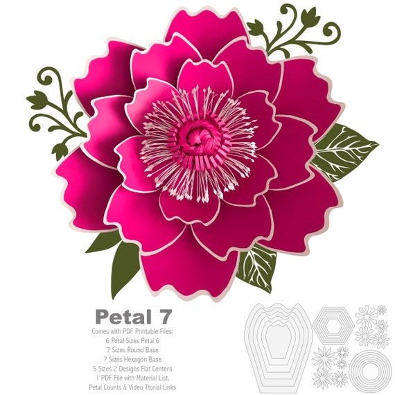 This is a graphic of Printable Flowers Pattern regarding daisy flower