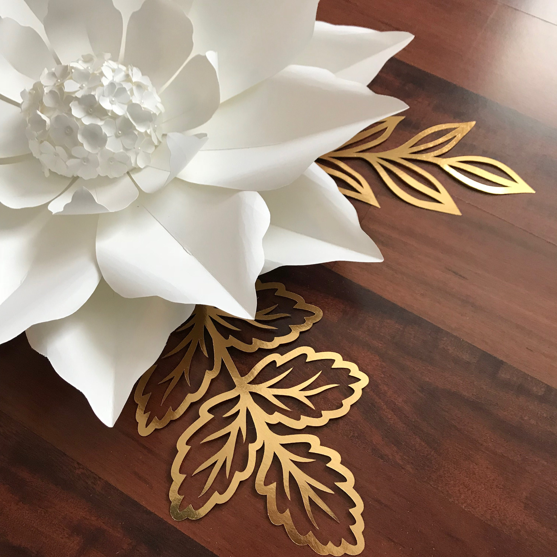 pdf petal 20 printable digital instant download paper flowers template to make unlimited flowers