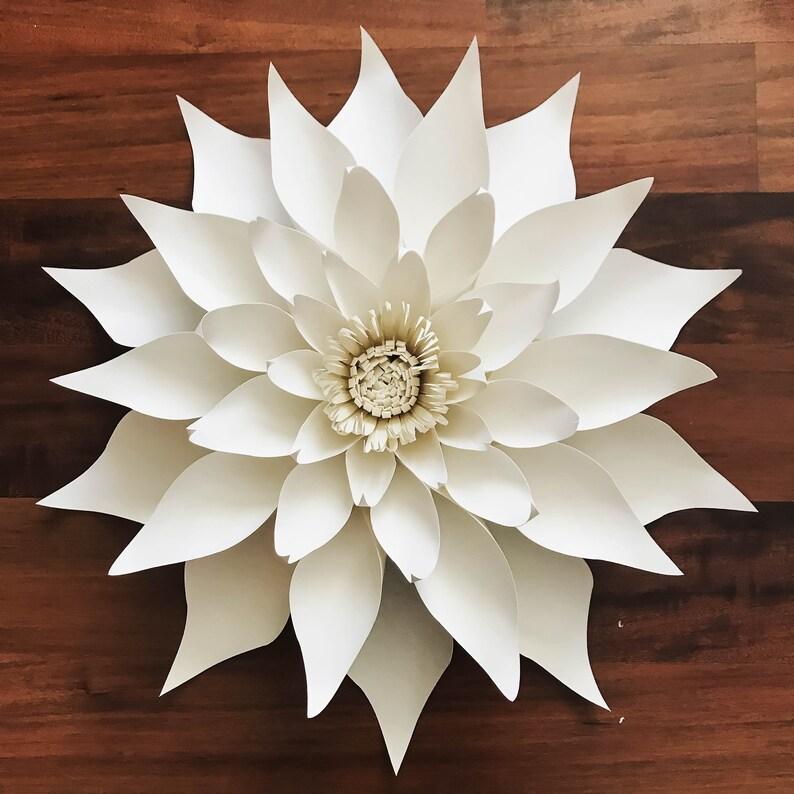 paper flowers paper flowers svg petal 89 dahlia paper