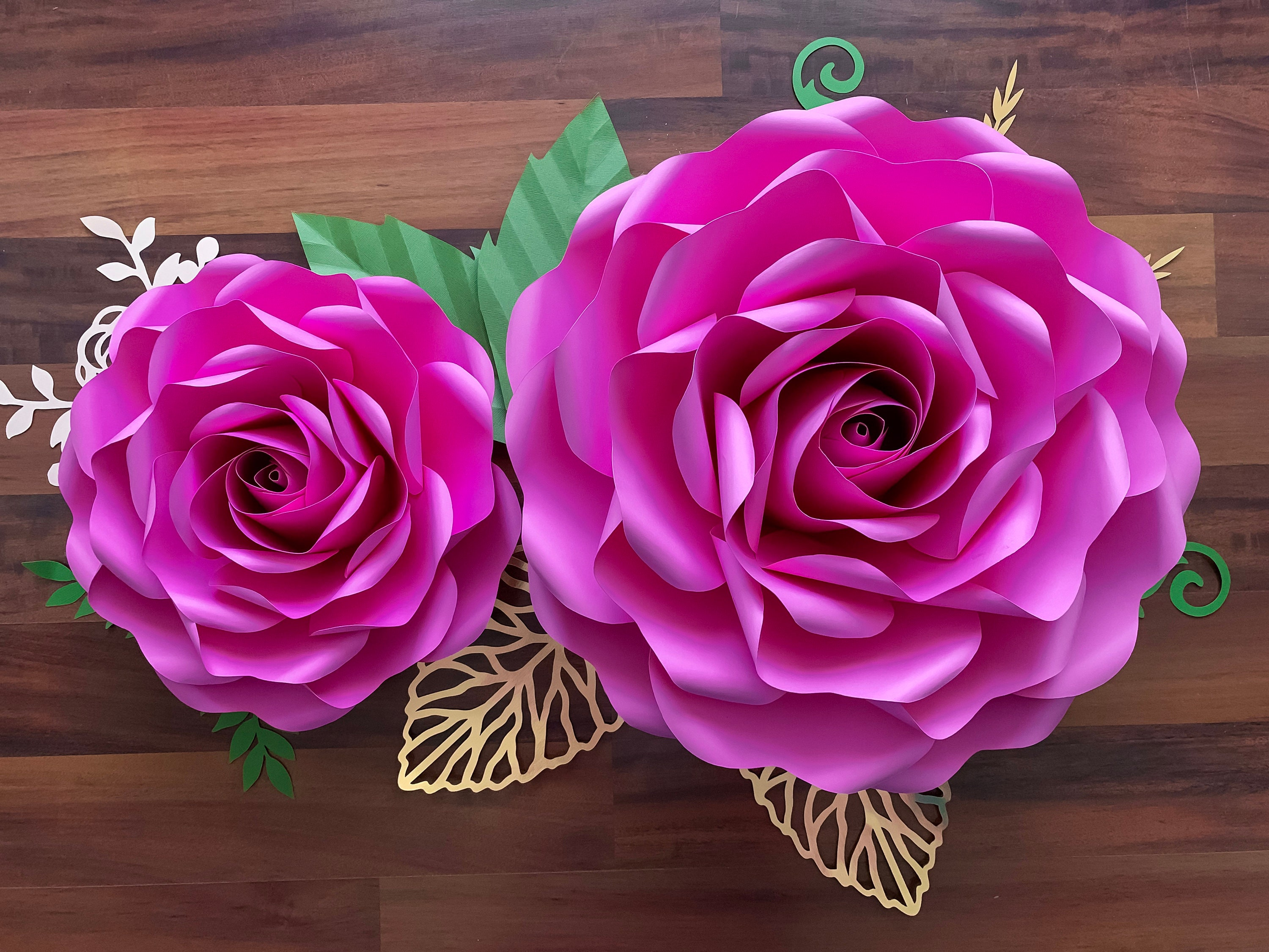 Extra Large PDF Full Size Rose 6 30 34 inches Rose when