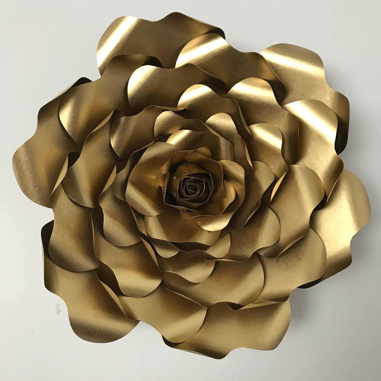 Svg Petal 52 Paper Flower Template Digital Version Original