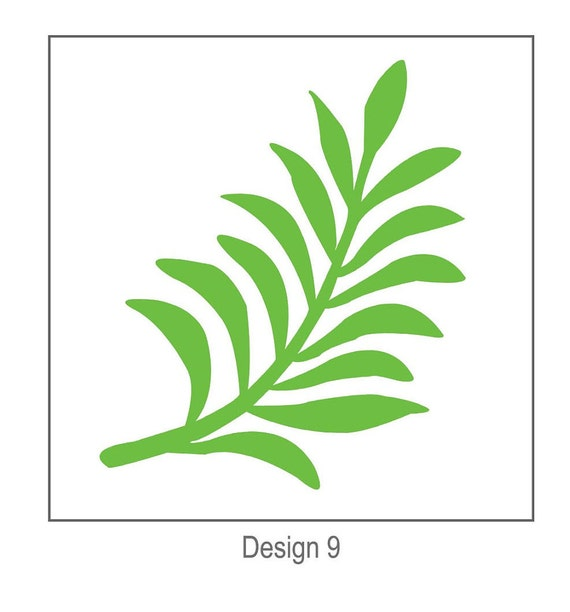 Paper flowers svg digital leaf template 9 cricut and etsy image 0 mightylinksfo