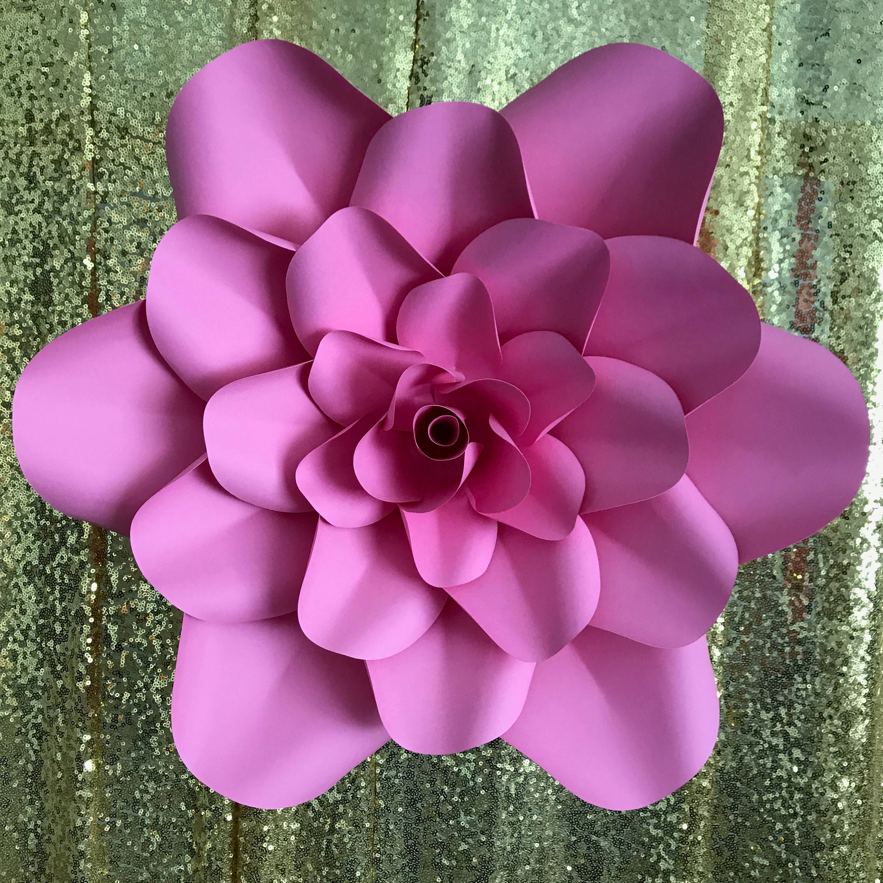 pdf petal 1 printable paper flowers template manageable