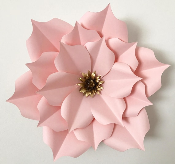 Astounding image regarding paper flower templates printable