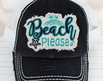 805021de429 Beach please hat | Etsy