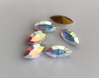 6 - 15x7mm Swarovski Crystal AB 4200 TC Crystal 6a1520fc1b9e