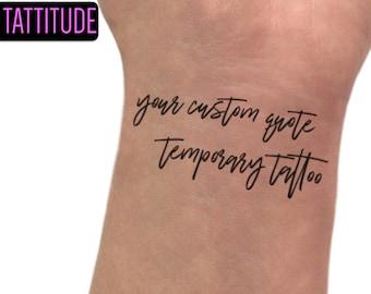 Temporary tattoos | Etsy