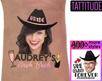Nashville Bachelorette Party Personalized Tattoos  894a54fea689