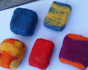 FELTED SOAP,  Wool & Alpaca