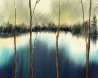 Abstract Across The River