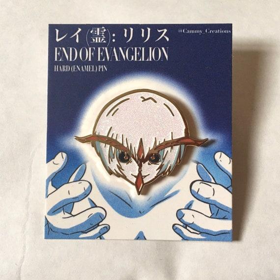 Neon Genesis Evangelion PRODUCTION MODEL Lilith Metal Pin Brooch Limit N