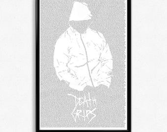 Lyrics 11x17 Poster Death Grips
