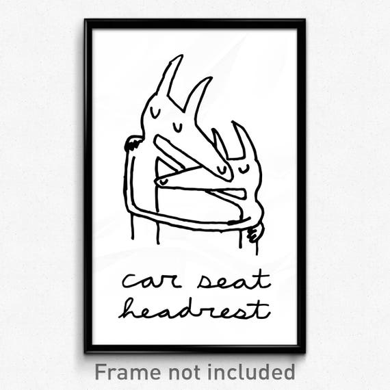 Car Seat Headrest Twin Fantasy Poster 11x17 Etsy