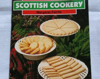 Vintage Traditional Scottish Cookery Booklet By Margaret Fairlie.  1995