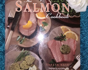 Vintage Salmon Cook Book - From The Scottish Board.    Hardback.       1994.