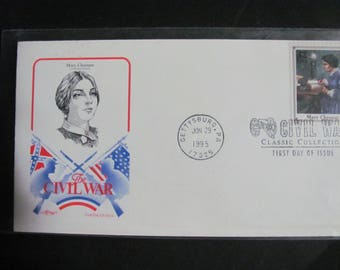 1995 First Day Cover Mary Chesnut MISPRINT