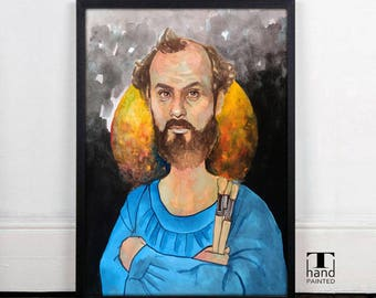 Gustav Klimt, Home Decor, Art Decor, Wall Decor, Digital Download, Printable Poster, Digital Prints, Art, Watercolor, Acrylic, Painting
