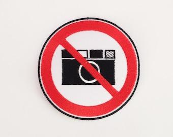 Aucune photo ne patch pas fer appareil photo sur la correction