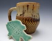 Chattered coffee mug FREE SHIPPING