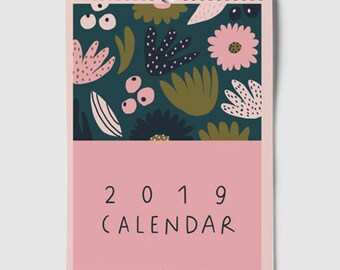 2019 Calendar size A4