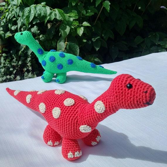 Crochet Diplodocus Dinosaur Pattern