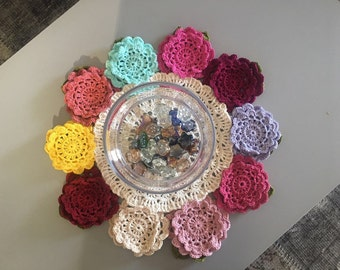 Handmade circle cloth cover