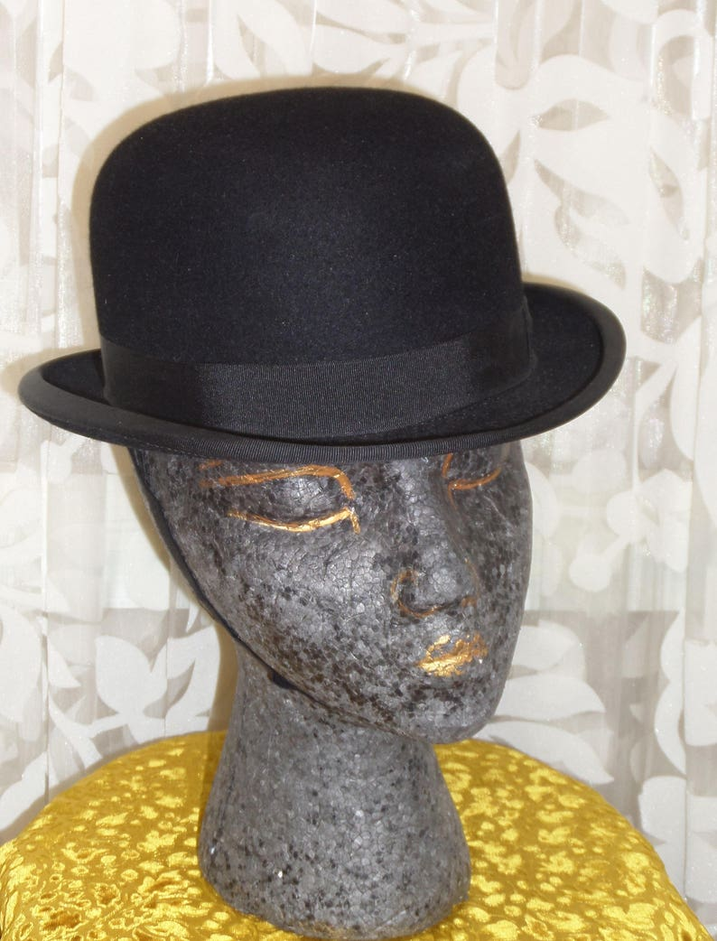 f31ddcef35bb6 Black Riding Bowler Hat by Christys of London