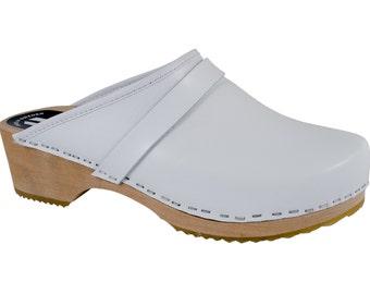Original Sweden clogs white ladies clogs men's clogs MB clogs