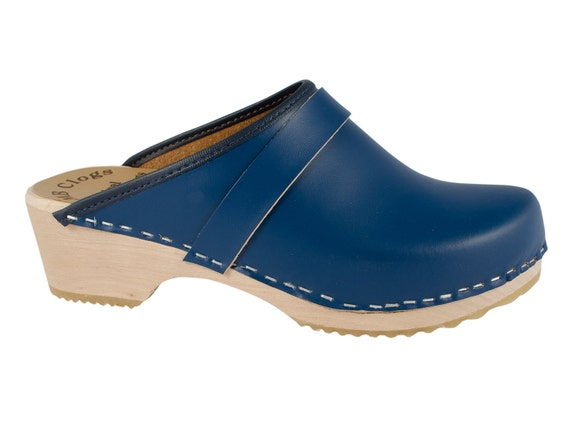 Original of Navy Blue Sweden clogs MB clogs