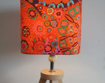 "Lampshade ""flowers"", ambience, home decor"