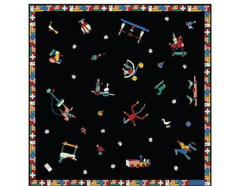 Silk twill square -60 cm -Joujoux -