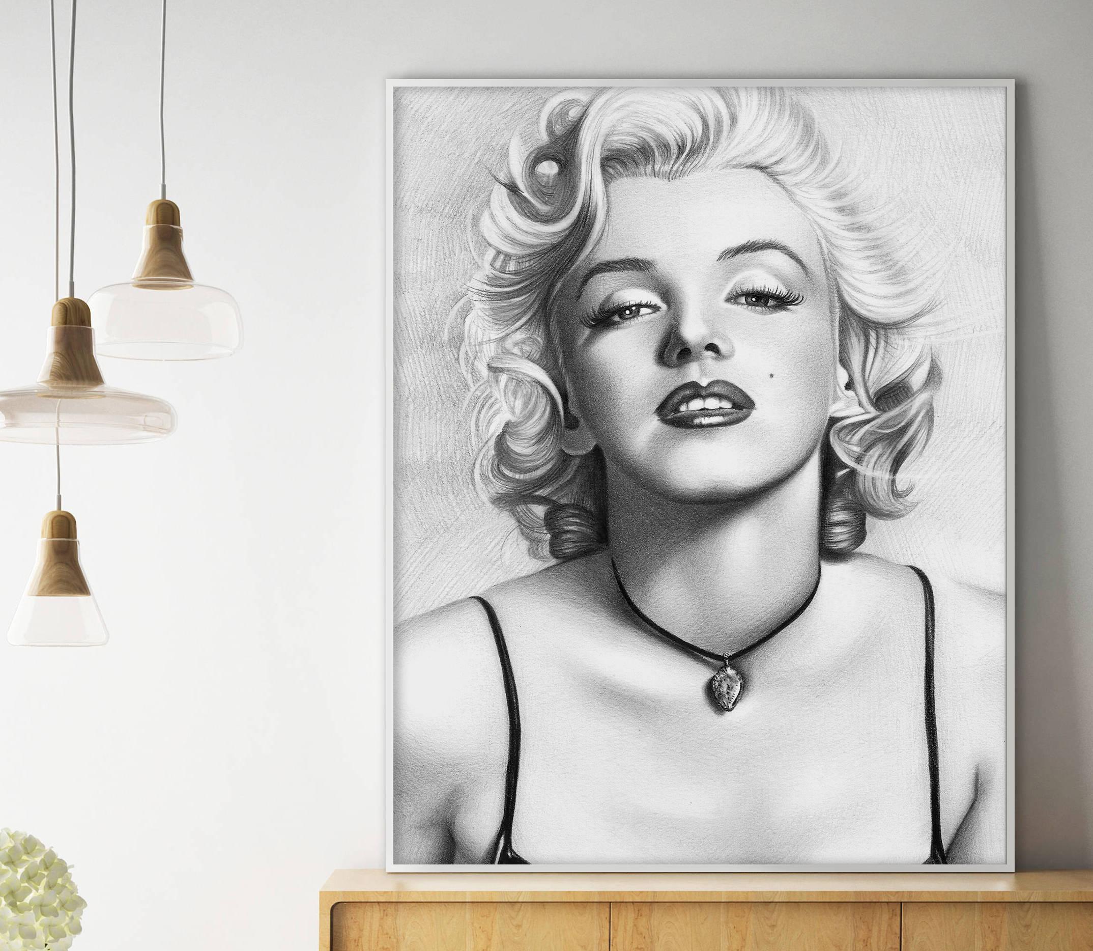 Vintage Art Print Poster A1 A2 A3 A4 A5 Marilyn Monroe Ballerina Dress
