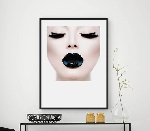 czarna szminka seks