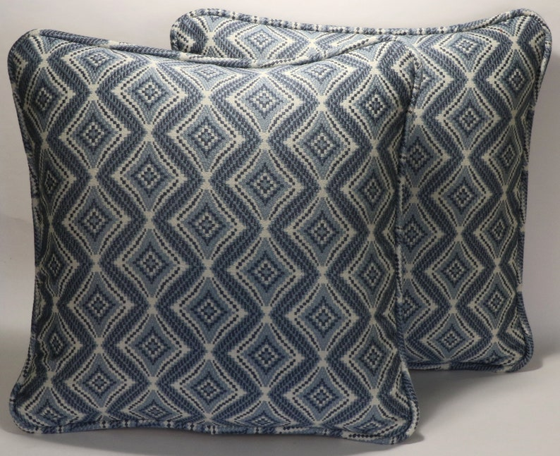 Set of 2 Mid Century Modern Throw Pillow Covers, 2 18\