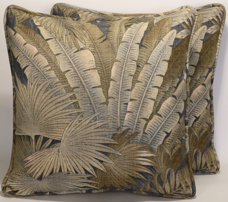 Outdoor Pillows Set Of 2.2 Tommy Bahama Outdoor Pillows Set Of 2 18 Tommy Bahama Bahamian Breeze Ocean Tan Outdoor Decorative Throw Pillows Forms Patio Pillows