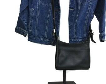 Coach Purse, Coach Bag Black Mambo 9062, Coach Handbag, Leather Hand Bag, Shoulder Bag, Crossbody Bag, Cross Body Bag