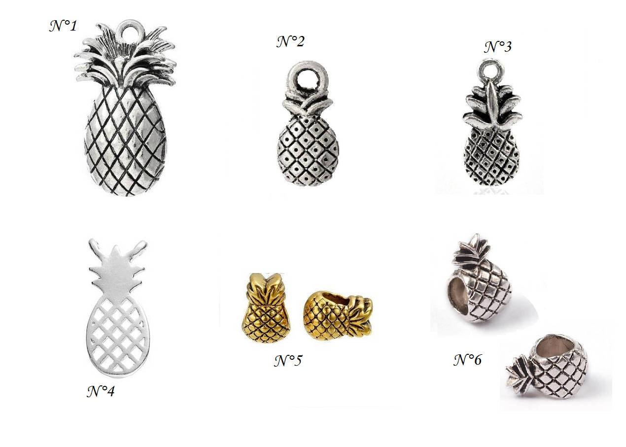 perle pandora ananas