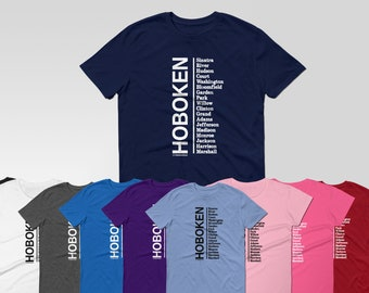 Insta Fav Hoboken with Our Famous Streets | WOMEN'S & UNISEX T-shirt