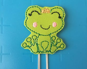 Froggie Prince Planner Clip