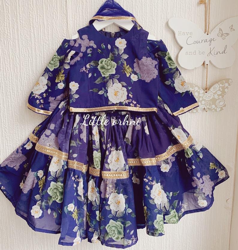 Lehanga choli for little girls
